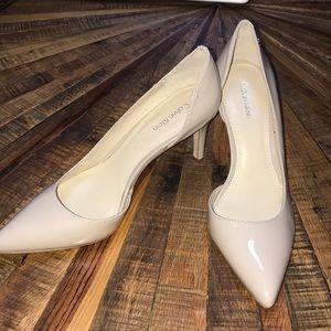 Calvin Klein patent leather heels